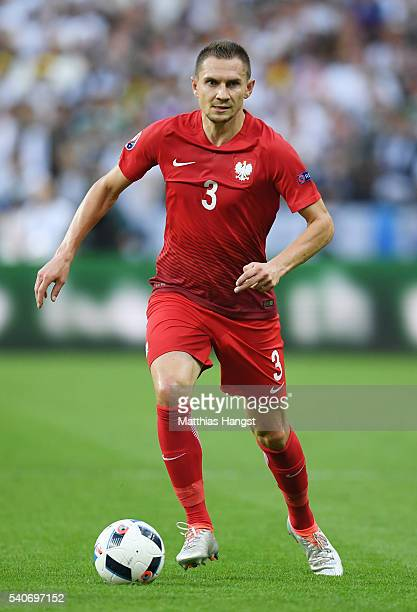 Artur Jedrzejczyk of Poland in action during the UEFA EURO 2016 Group C match between Germany and Poland at Stade de France on June 16 2016 in Paris...