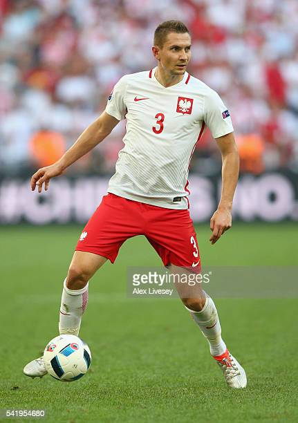 Artur Jedrzejczyk of Poland in action the UEFA EURO 2016 Group C match between Ukraine and Poland at Stade Velodrome on June 21 2016 in Marseille...