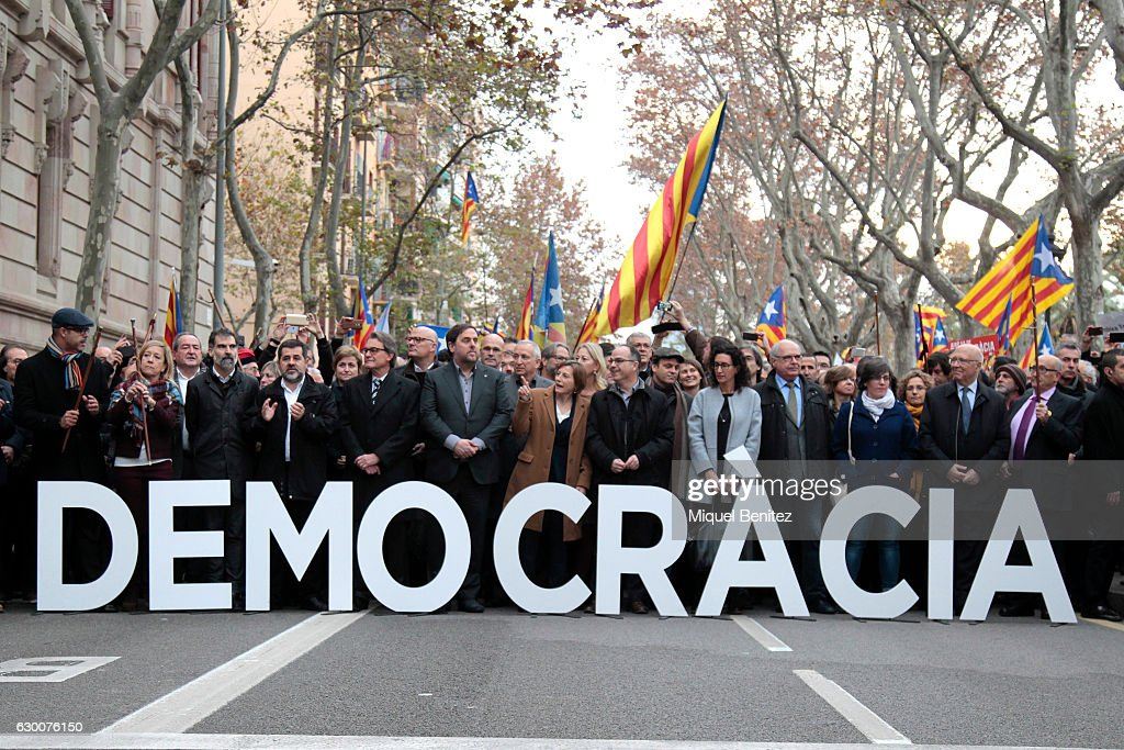 Carme Forcadell Declares at The Superior Court of Justice of Catalonia