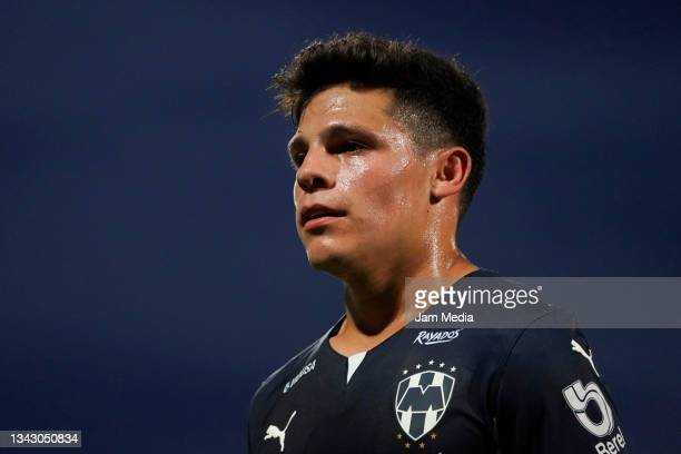 Arturo Alfonso Gonzalez of Monterrey looks on during the 10th round match between Santos Laguna and Monterey as part of the Torneo Grita Mexico A21...