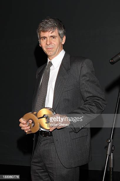 Arturo AlvarezBuylla attends the GQ's 2011 'Men of the Year' party held at Salon Arcos Bosques on November 17 2011 in Mexico City Mexico