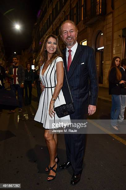Arturo Artom and Alessandra Repini attend 'La Vendemmia 2015' The World's Finest Wine Lifestyle Experience on October 8 2015 in Milan Italy