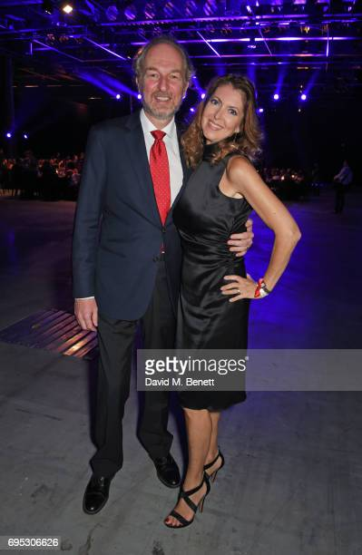 Arturo Artom and Alessandra Repini attend the UNAIDS Gala during Design Miami / Basel 2017 on June 12 2017 in Basel Switzerland