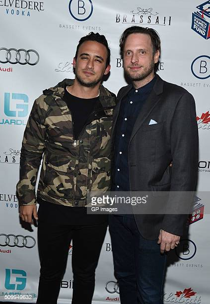 Arturo De La Suente and CEO of GuardLab Aidan Butler attend the Jose Bautista AllStar Weekend kickoff party with special guest set by DJ Snoopadelic...