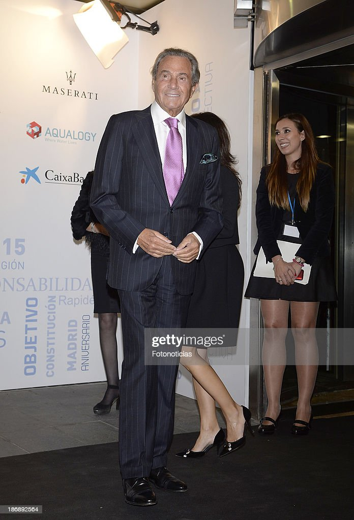 Arturo Fernandez attends 'La Razon' newspaper 15th anniversary party on November 4, 2013 in Madrid, Spain.