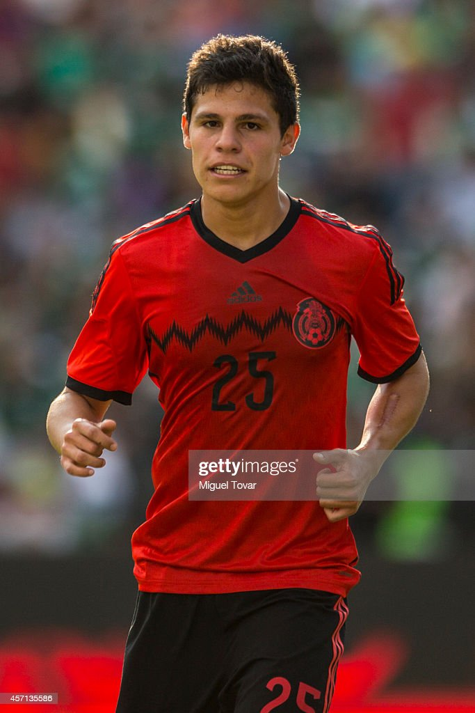 Arturo Gonzalez of Mexico looks on during a friendly match between Mexico and Panama at Corregidora Stadium on October 12, 2014 in Queretaro, Mexico.
