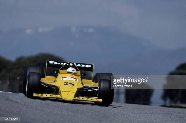 Arturo Merzario drives the Team Merzario Merzario A2 Ford Cosworth DFV 30 V8 during practice for the Spanish Grand Prix on 28th April 1979 at the...