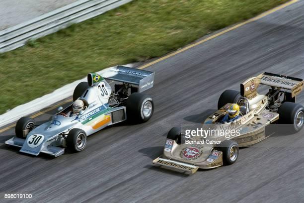 Arturo Merzario Harald Ertl CopersucarFord FD03 HeskethFord 308 Grand Prix of Italy Autodromo Nazionale Monza 07 September 1975