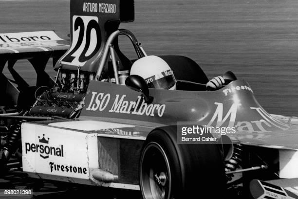 Arturo Merzario IsoMarlboroFord FW Grand Prix of the Netherlands Circuit Park Zandvoort 23 June 1974