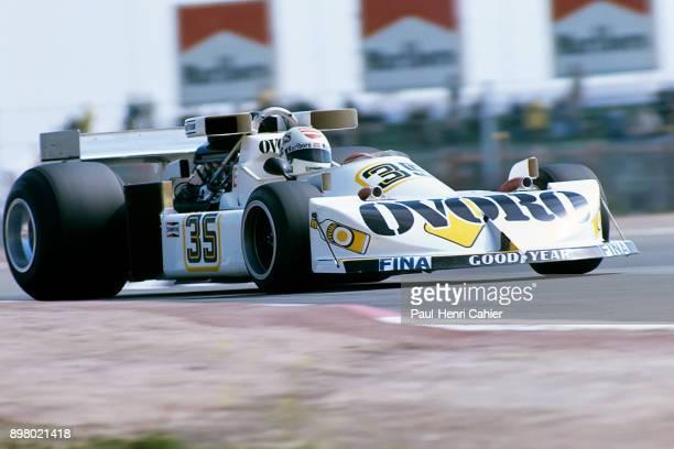 Arturo Merzario MarchFord 761 Grand Prix of Spain Circuito del Jarama 02 May 1976