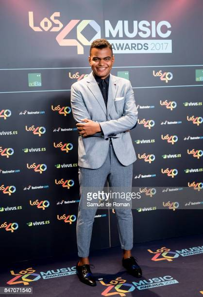Arturo Paniagua attends 40 Principales Awards candidates dinner 2017 on September 14 2017 in Madrid Spain