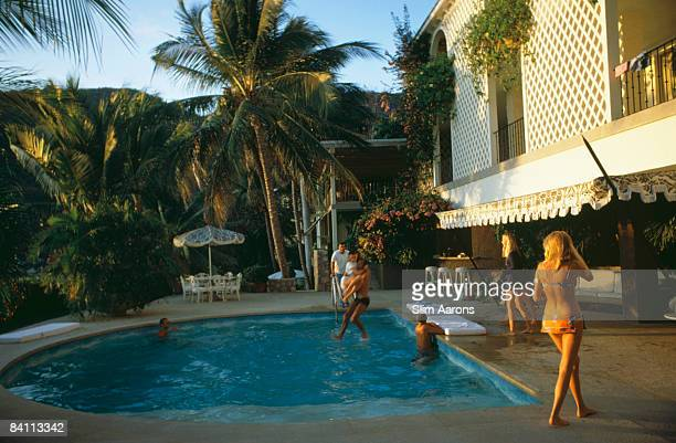 Arturo Pani's villa in Acapulco January 1988