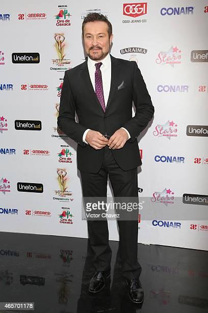 Arturo Peniche arrives at Premios TV y Novelas 2015 at Televisa San Angel on March 9 2015 in Mexico City Mexico