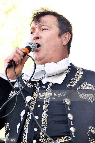 Arturo Peniche performs during the Que Bonito Amor presentation at the Festival Cinco de Mayo in Flushing Meadows Corona Park on May 5 2013 in New...