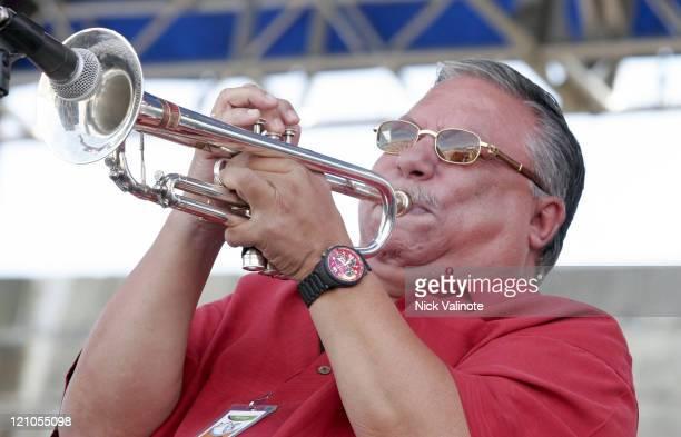 Arturo Sandoval during JVC Newport Jazz Festival 2006 at Fort Adams State Park in Newport RI United States