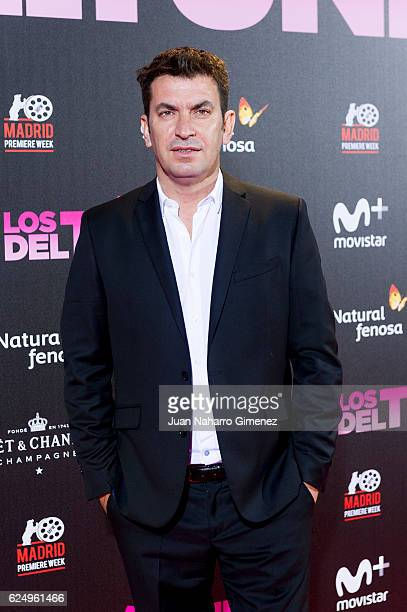 Arturo Vals attends 'Los Del Tunel' premiere during the Madrid Premiere Week at Callao Cinema on November 21 2016 in Madrid Spain