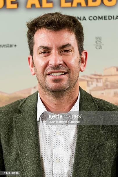 Arturo Vals attends 'Villaviciosa de al Lado' photocall at Palacio de los Duques Hotel on November 29 2016 in Madrid Spain