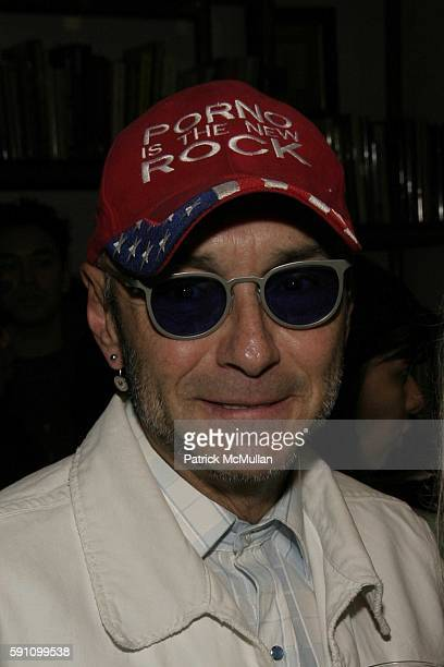 Arturo Vega attends Edie Sedgwick Unseen Photographs of a Warhol Superstar Opening Reception Hosted by Misha Sedgwick at Gallagher's Art and Fashion...