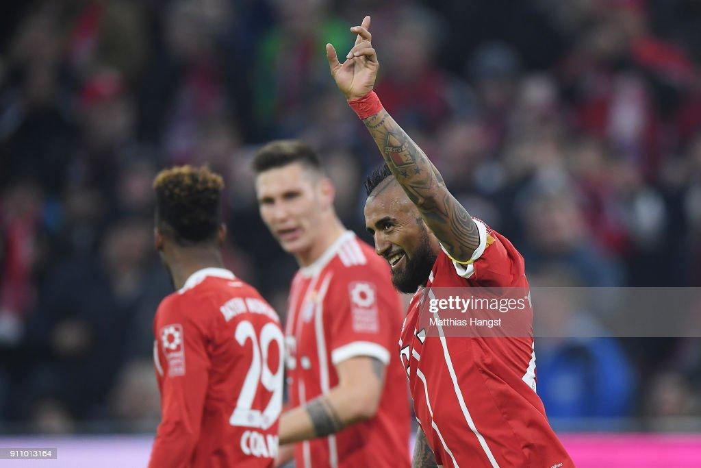 FC Bayern Muenchen v TSG 1899 Hoffenheim - Bundesliga : News Photo