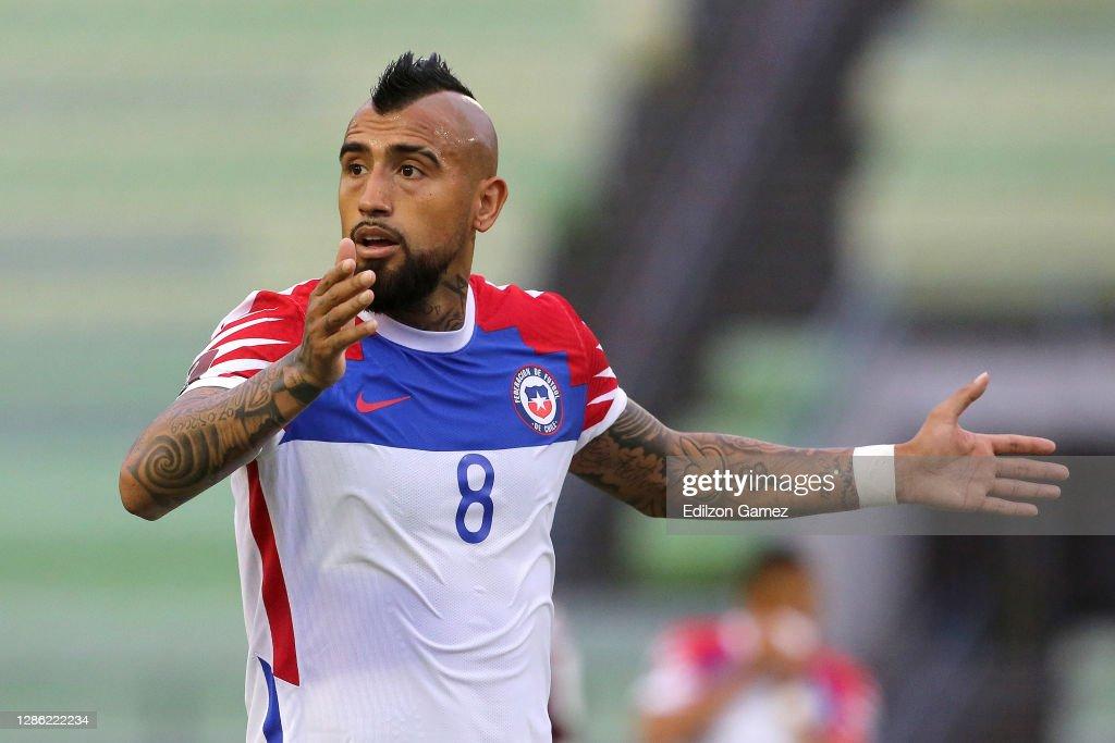 Venezuela v Chile - South American Qualifiers for Qatar 2022 : News Photo