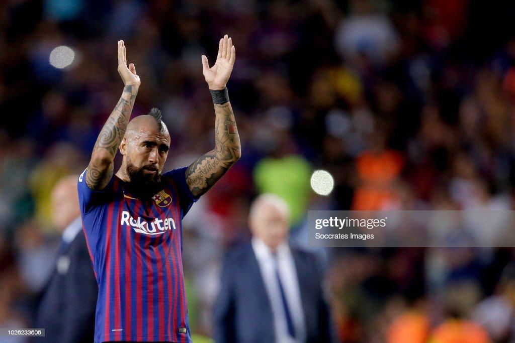 FC Barcelona v SD Huesca - La Liga Santander : News Photo