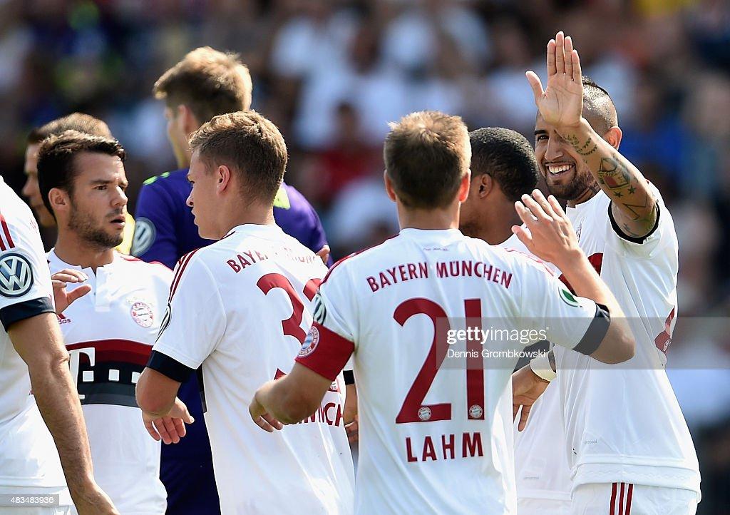 FC Noettingen v FC Bayern Muenchen  - DFB Cup : News Photo