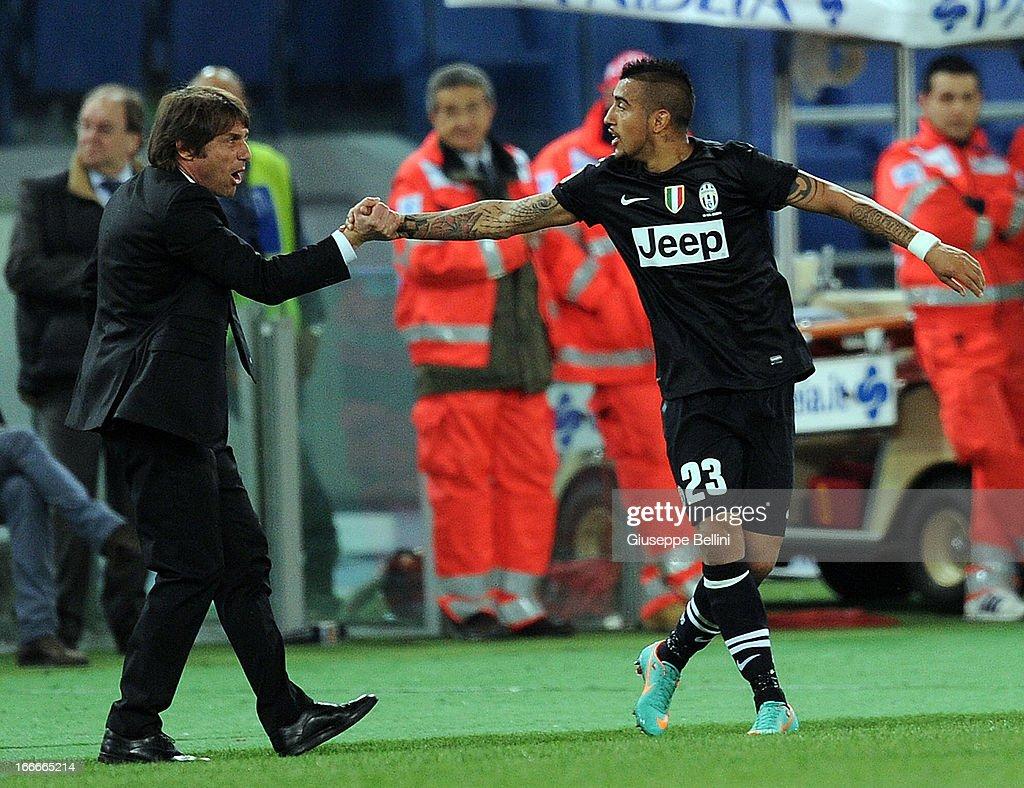 S.S. Lazio v Juventus - Serie A : News Photo