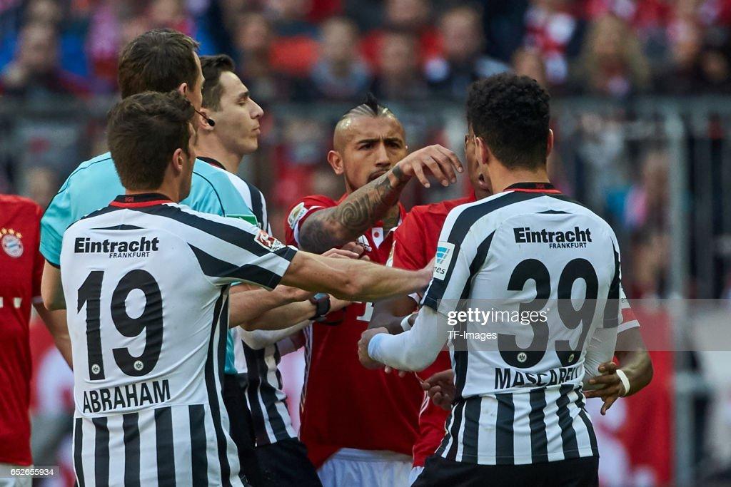 Bayern Muenchen v Eintracht Frankfurt - Bundesliga : Nachrichtenfoto
