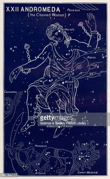 Artwork by Amy Manson based on a drawing by E W Bullinger from 'The witness of the stars' by E W Bullinger