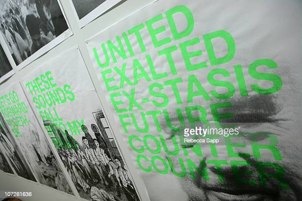 Artwork by Jeremy Shaw at the Festival Installation: Best Minds Part One at The 32nd Annual Toronto International Film Festival in Toronto, Canada on...