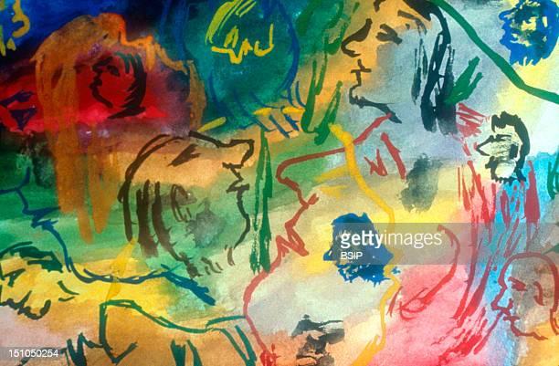 Artwork By Schizophrenic Patient