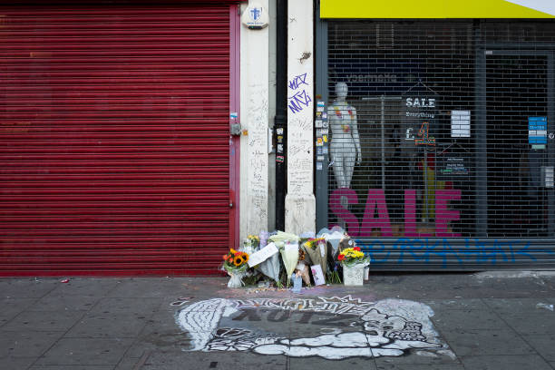 GBR: Tribute To Camden High Street Stabbing Victim