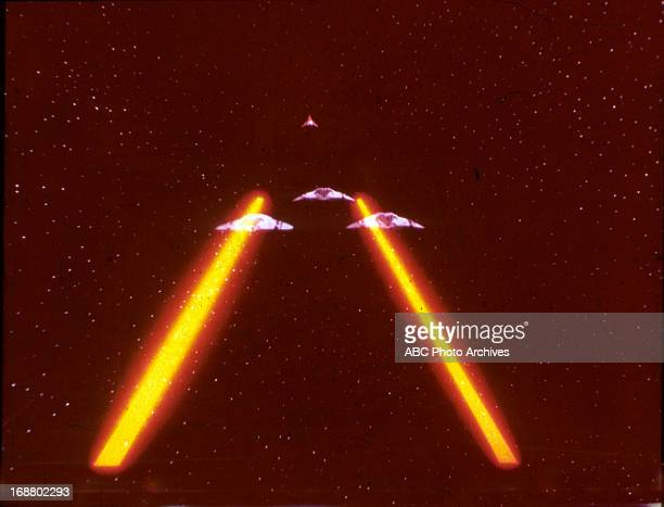 GALACTICA Artwork Special Effects Create Date August 18 1978 SPACESHIPS
