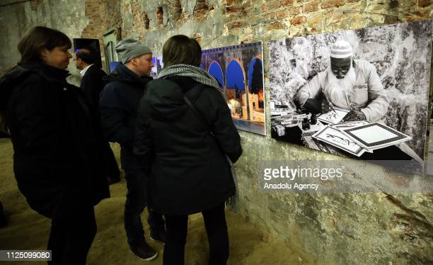 Artworks are being displayed at 'Human Faces of AlQuds' photograph exhibition consisting 51 photographs for 51st anniversary of Israel's occupation...