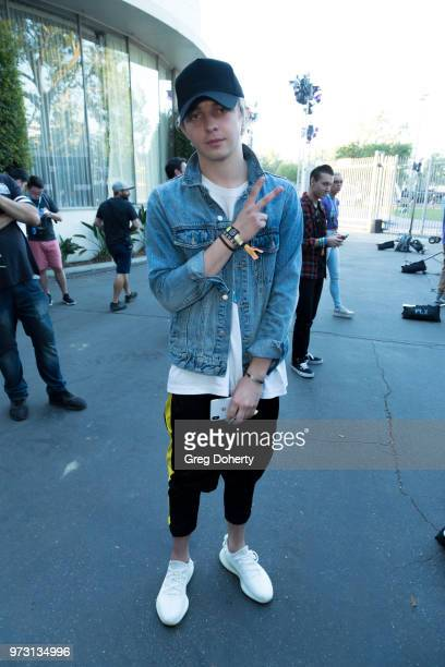 Arty attends the Epic Games Hosts Fortnite Party Royale on June 12 2018 in Los Angeles California