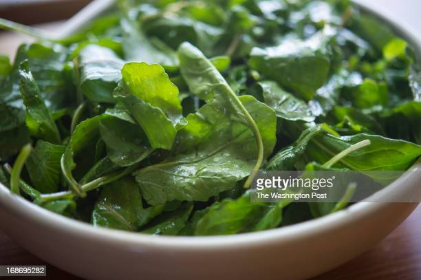 Arugula salad is part of lunch served up in Washington DC on Saturday May 4 2013 Best selling author Mark Bittman has a new book out 'VB6' advocating...