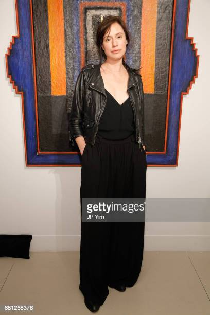 Arum Rae attends 'A Magic Bus Cocktail Party' at DAG Modern on May 9 2017 in New York City