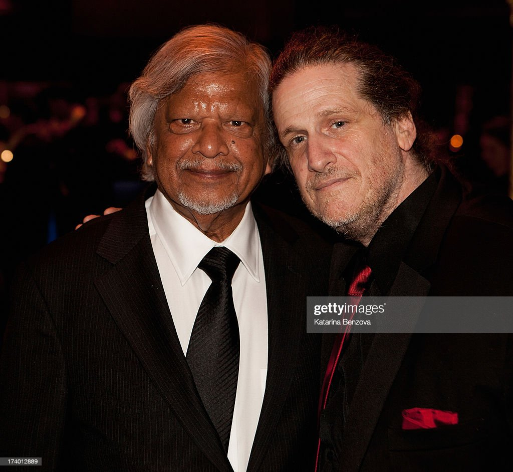 Arun Gandhi and Eric Gast attend The Nelson Mandela Legacy Of Hope Foundation Event at Gotham Hall on July 18, 2013 in New York City.