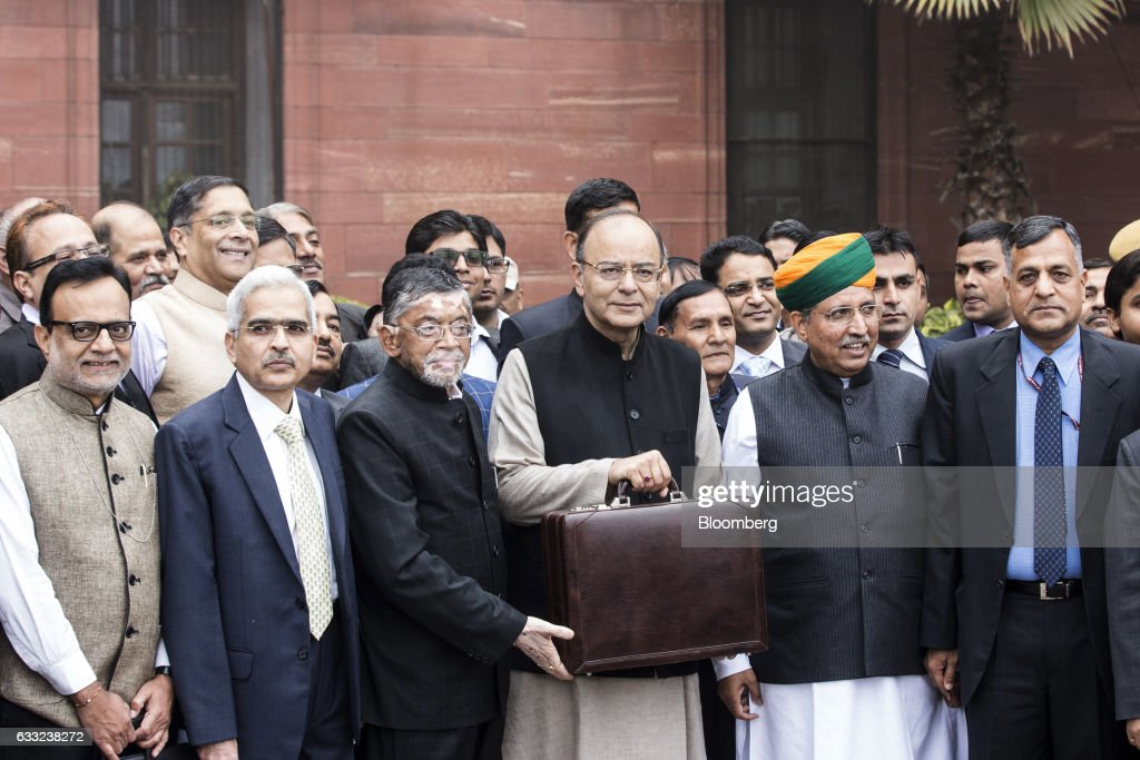 India's Finance Minister Arun Jaitley Delivers The Union Budget