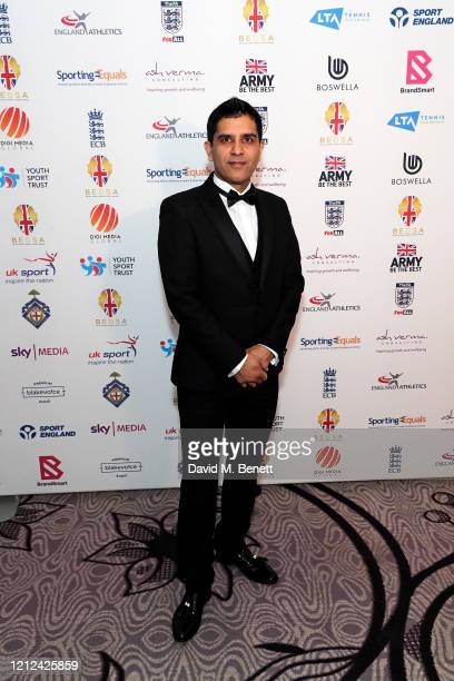 Arun Kang attends the British Ethnic Diversity Sports Awards 2020 at the Hilton Park Lane on March 14 2020 in London England