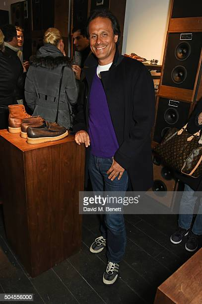 Arun Nayar attends the LATHBRIDGE By Patrick Cox presentation during The London Collections Men AW16 on January 11 2016 in London England
