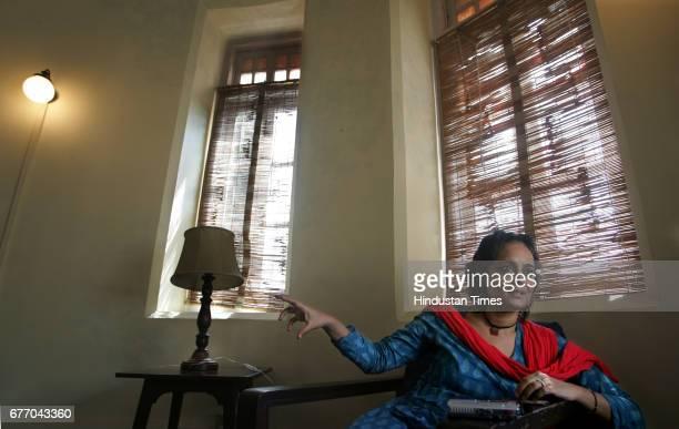 Arundhati Roy at Yatch club on Wednesday
