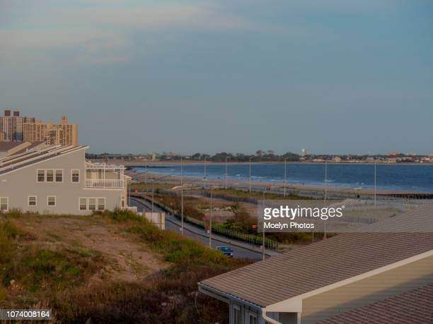 arverne new york - rockaway peninsula stock pictures, royalty-free photos & images