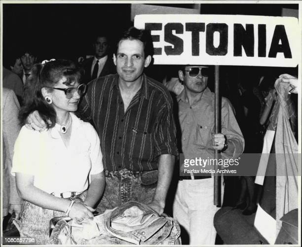 Arvi and Merike Orula arrive to an Estonian welcome at Sydney AirportGlasnost came too late for couple Back home in Estonia Mikhail Gorbachev's...