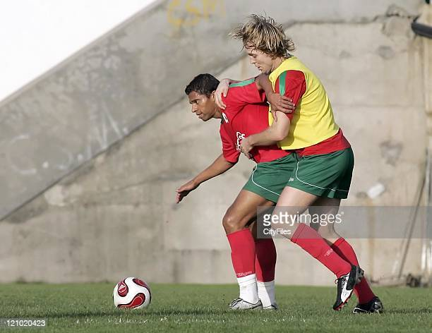 Arvid Smit during his first training session with new team Maritimo January 15 2007