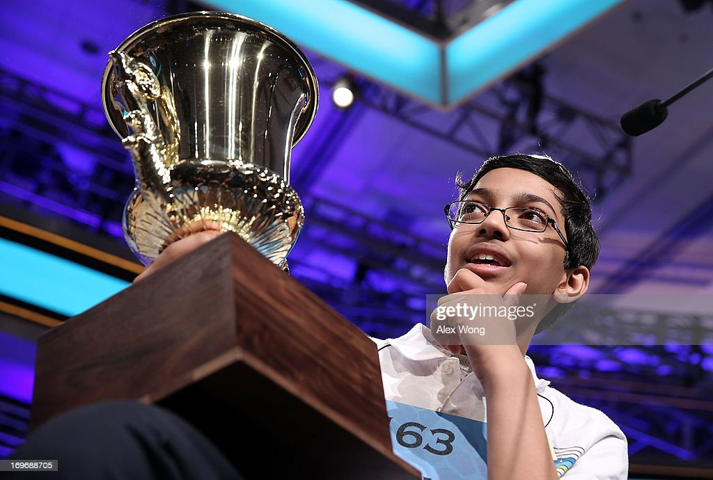 Superior Spellers Compete At National Spelling Bee : News Photo
