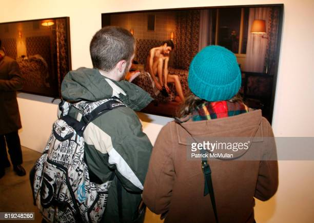Arwork attends ERWIN OLAF Opening Reception at Hasted Hunt Kraeutler on January 28 2010 in New York