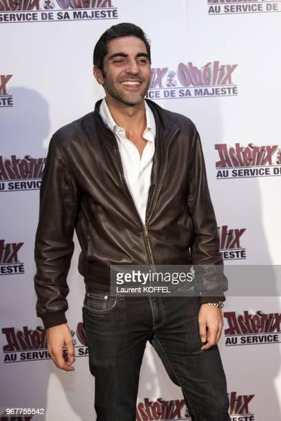 Ary Abitan at Asterix et Obelix au service de sa majeste film premiere at Le Grand Rex on September 30 2012 in Paris France