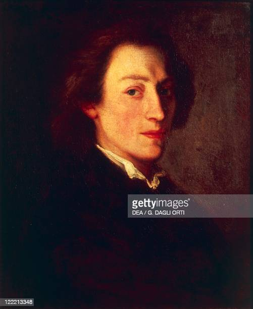 Ary Scheffer Portrait of Frederic Chopin Polish composer and pianist