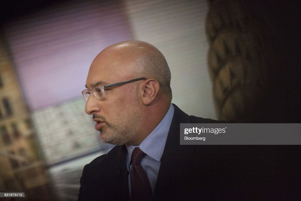 Aryeh Bourkoff, co-founder and chief executive officer of LionTree Advisors LLC, speaks during a Bloomberg Television interview in New York, U.S., on Tuesday, Aug. 15, 2017. Bourkoff discussed M&A activity in the media industry. Photographer: Victor J. Blue/Bloomberg via Getty Images